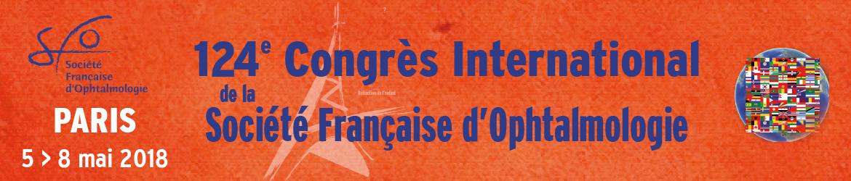 Congrès de la Société Française d'Ophtalmologie 2018